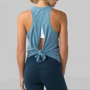 cool breeze open back lulu tank